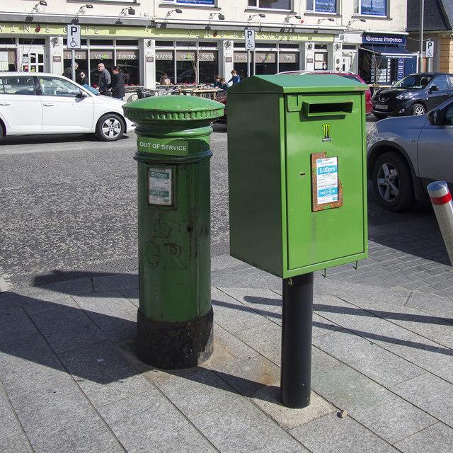 Postboxes, Greystones