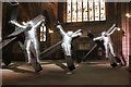 SJ4066 : Golgotha at Chester Cathedral by Jeff Buck