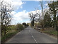 TM1254 : B1078 Needham Road & Bridge by Geographer