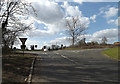 TM1154 : B1078 Needham Road, Coddenham Green by Geographer