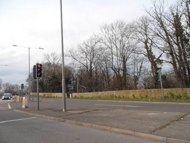 Eastbourne Road at the A27 junction