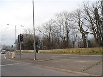 TQ5704 : Eastbourne Road at the A27 junction by David Howard