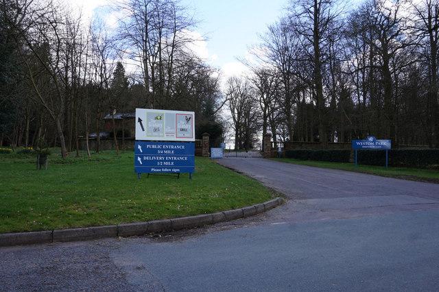Shrewsbury Gate, Weston Park