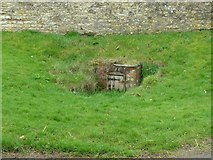 SP9599 : Village well, Wakerley by Alan Murray-Rust