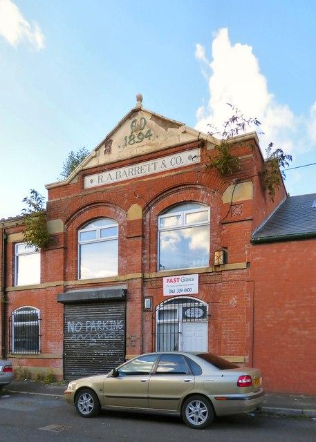 Barratt's Dean Street Works