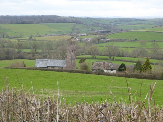 Upton Hellions and the Creedy valley
