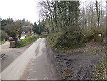 SS8503 : Road through The Broxfords by David Smith