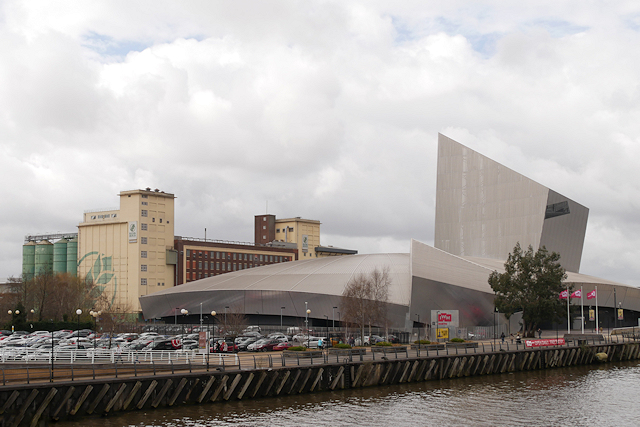 Trafford Wharf, Imperial War Museum North and RHM factory
