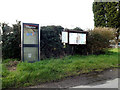TM0758 : Telephone Box & Creeting St.Peter Village Notice Board by Adrian Cable