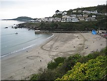 SX2553 : The beach at East Looe by Philip Halling