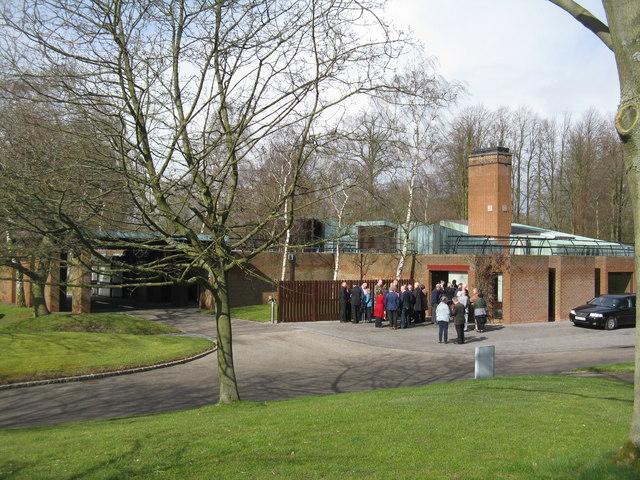 Crematorium at Bretby