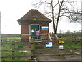 SK3528 : Sewage pumping station at Barrow upon Trent by M J Richardson
