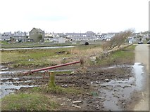 SH3568 : The approach to Aberffraw by Oliver Dixon