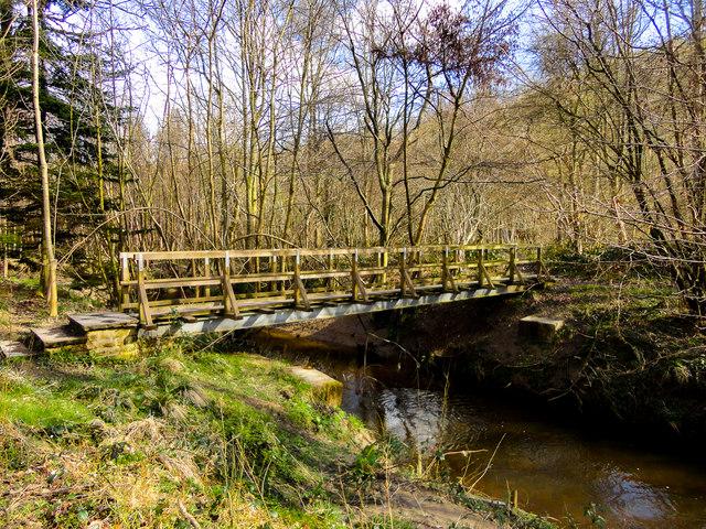 Foot Bridge over Pickering Beck