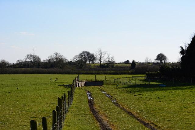 A small farm track near Ashby