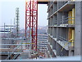 SK3587 : Construction of St. Paul's Tower, Sheffield, in 2008 by Andrew Tryon