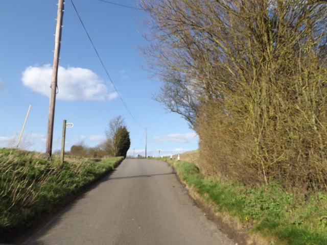 Pound Road & footpath