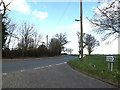 TM0760 : A1120 Church Road, Stowupland by Adrian Cable