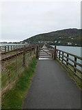 SH6214 : Gate on Barmouth Bridge by Eirian Evans