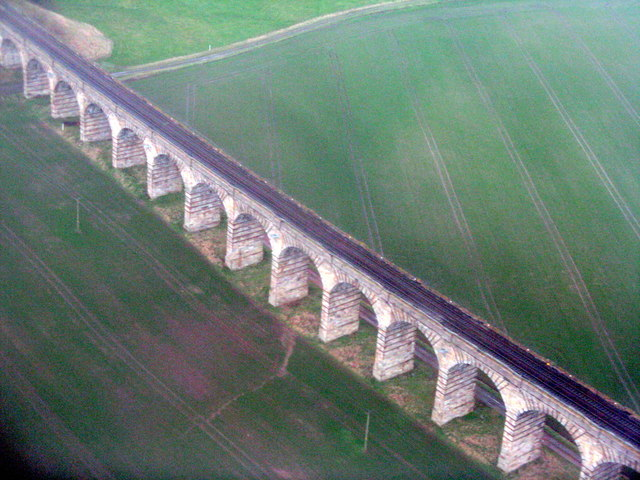 The Almond Valley Viaduct