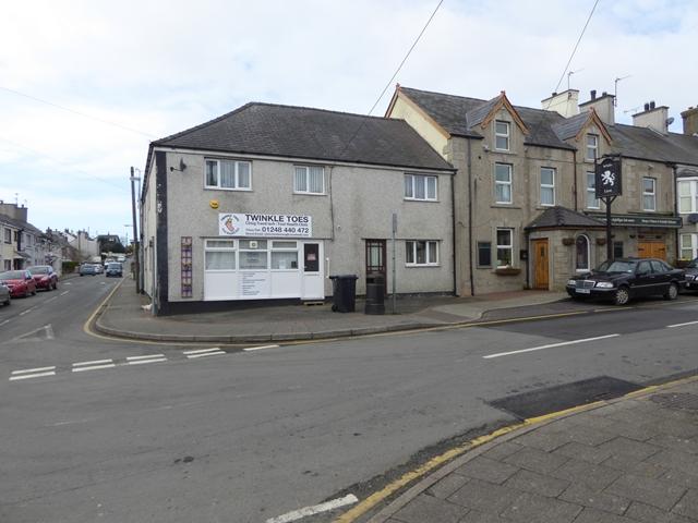 Centre of Newborough village