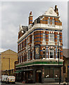 """TQ2983 : """"The Golden Lion"""" public house, Camden Town by Jim Osley"""