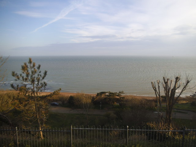 The sea front at Folkestone