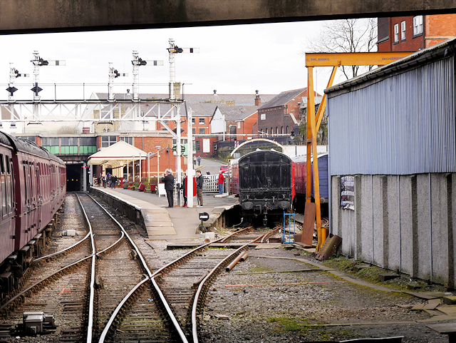 East Lancashire Railway, Approach to Bolton Street Station from the South