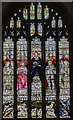 TF0543 : East window, St Denis' church, Silk Willoughby by Julian P Guffogg