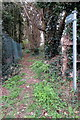 SP5925 : Footpath towards Caversfield by Philip Jeffrey