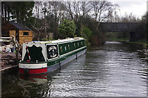 SK0305 : 'Wild Rose' on the Wyrley & Essington Canal by Stephen McKay