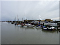 TQ0202 : West Bank, River Arun, Littlehampton by Jeff Gogarty