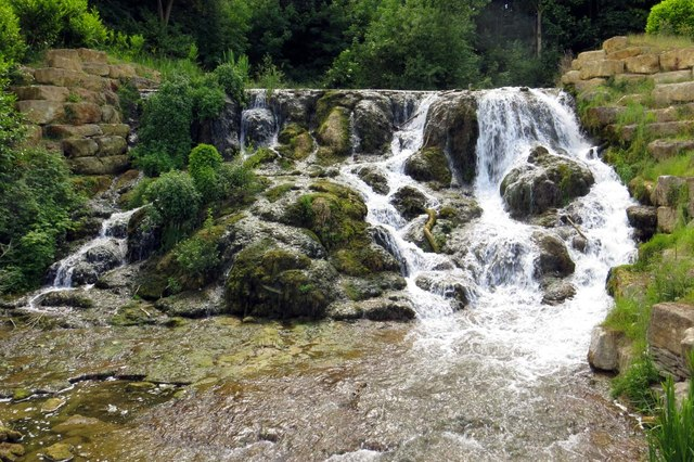 The Cascades on the River Glyme