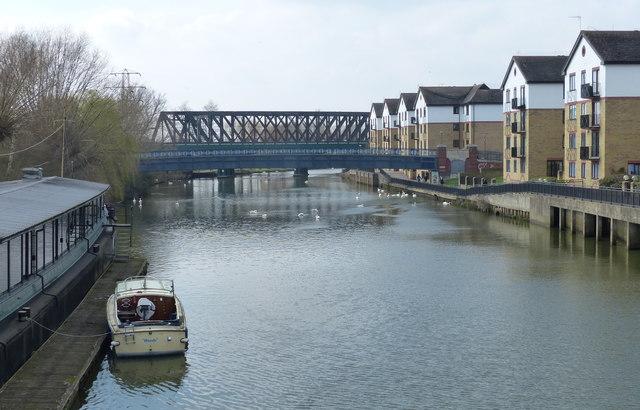The River Nene in Peterborough