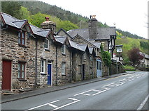 SH6718 : Row of terraced cottages in Bontddu by Eirian Evans