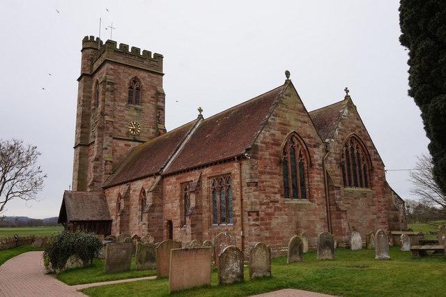 St Peter's Church, Stoke on Tern