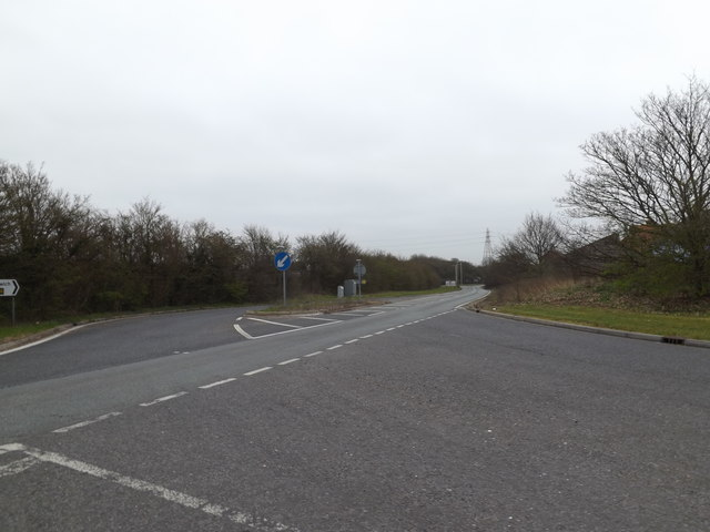 A14 slip Road, Stowupland