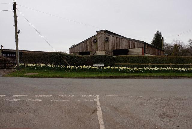 Barn at Yewtree Farm, Rosehill Road