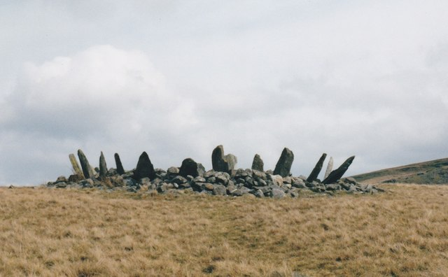 The crown-like silhouette of Bryn Cader Faner