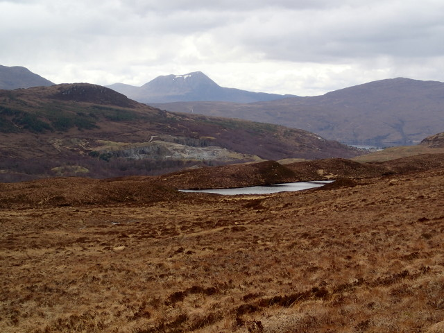 Loch an Uidh from the East