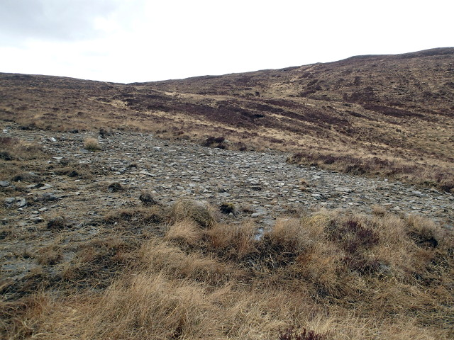 Stony patch above Loch an Uidh