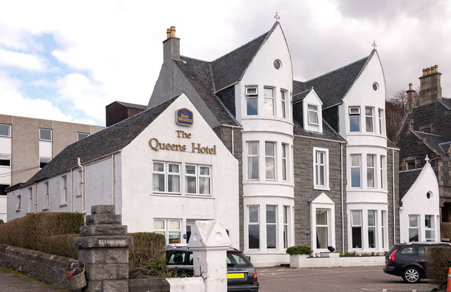 The Queens Hotel Oban April 2016