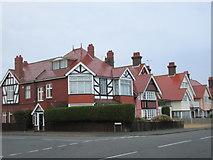TM2531 : Houses on Marine Parade, Dovercourt by Jonathan Thacker