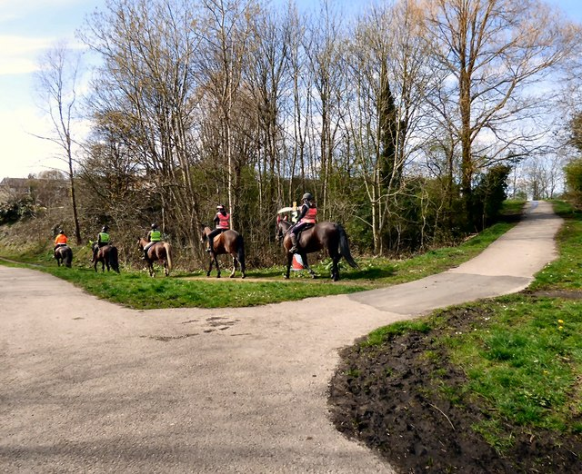 Horse riders at Swains Valley