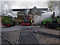 SK2406 : Statfold Barn Railway - and so to bed by Chris Allen