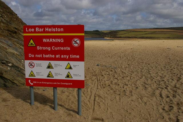 Full range of hazards, Loe Bar