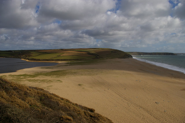 Loe Bar from the north