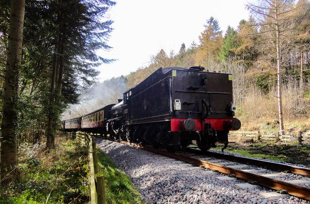 NYMR Steam Locomotive