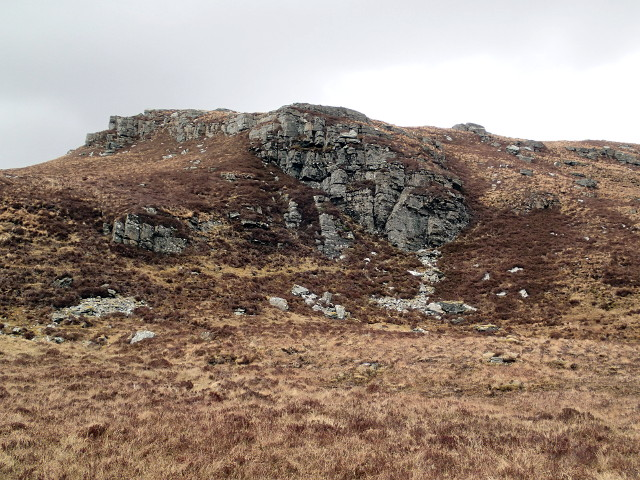 Small crag above Loch na Maoile