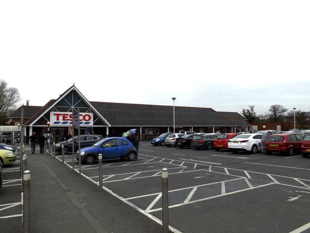 Tesco Supermarket, Stowmarket